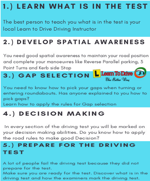guide to prepare for driving test