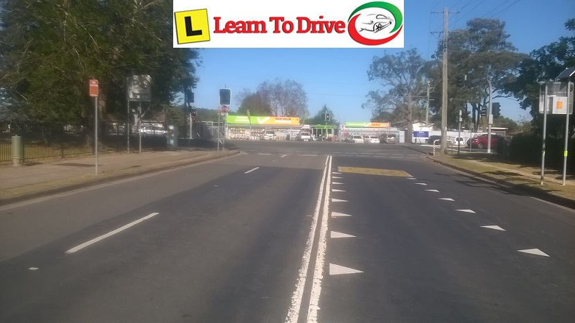 Driving lessons on Lapstone road