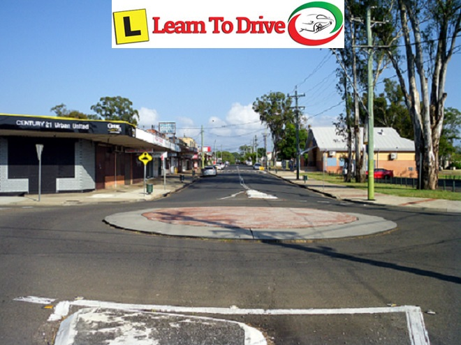 Street view of cambride park during driving lesson.