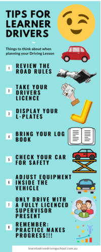 Tips for Learner Drivers
