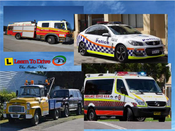Slow down for emergency vehicles NSW
