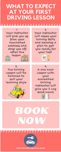 first driving lesson expectations