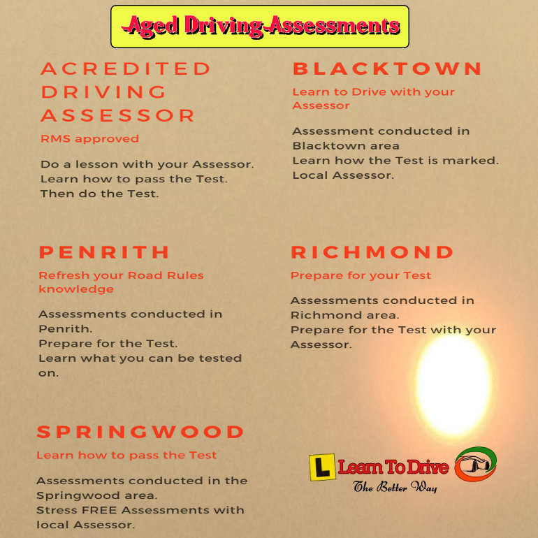 Older Driver Assessments