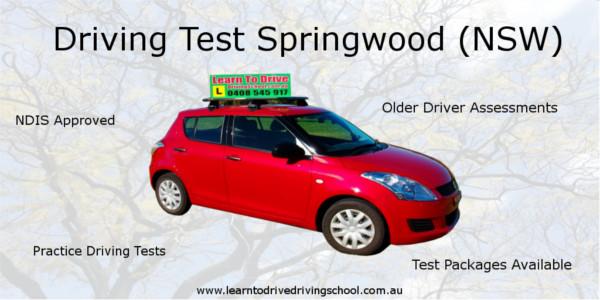 Driving Test Springwood