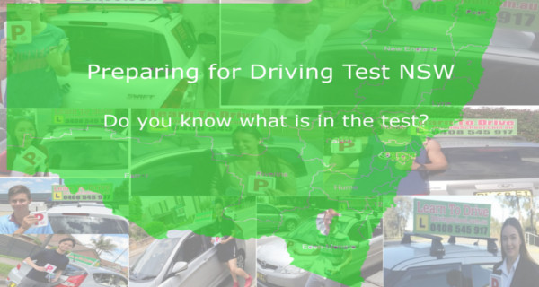 Preparing for Driving Test NSW with Learn to Drive